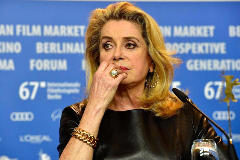 Catherine Deneuve has apologised to victims of sexual assault: AFP/Getty Images