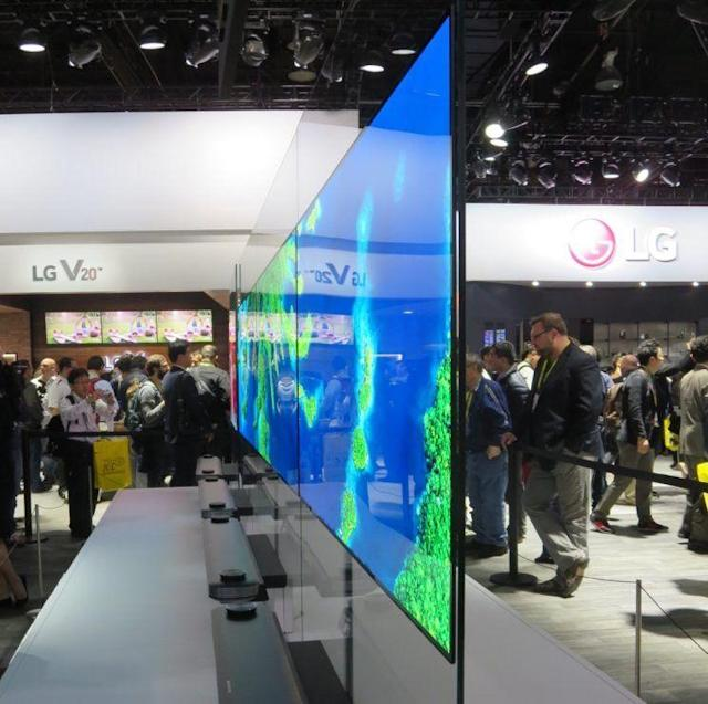 One of LG's W televisions.