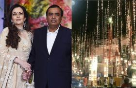 Ganesh Chaturthi 2019: Pedder Road outside Ambani's Mumbai residence Antilia decked up with unique decor