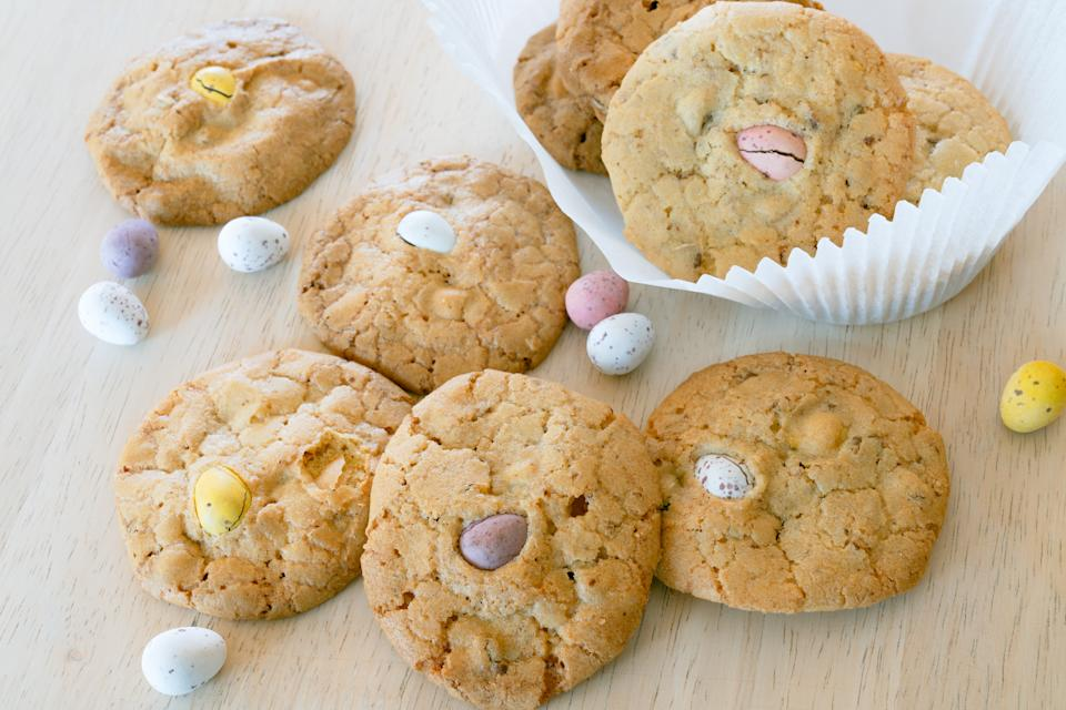 Mini egg cookies (Andrew Bowden-Smith)