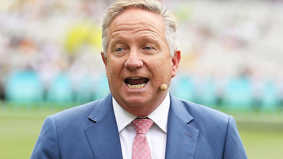 Ian Healy has slammed the abrupt cancellation of Queensland's Sheffield Shield clash with Tasmania was cancelled at the last minute due to coronavirus cases in Brisbane. (Photo by Scott Barbour - CA/Cricket Australia via Getty Images/Getty Images)