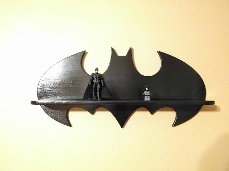 Batman Inspired Display Shelf (Photo: Etsy)