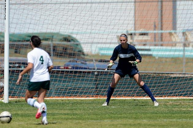 San Antonio Johnson keeper Morgan Stearns — Johnson Jaguars Sports