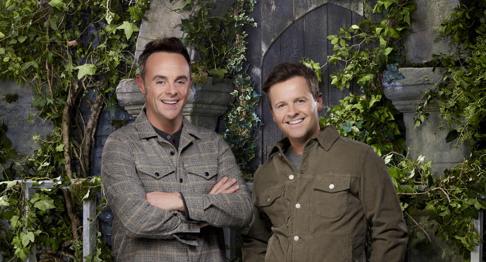Ant and Dec have relocated from Down Under to Gwrych Castle. (ITV)