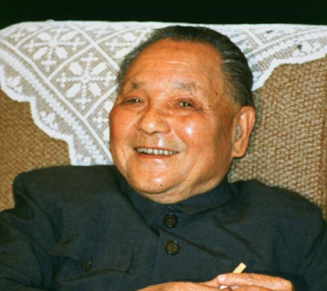 FILE - In this Oct. 13, 1988 file phto, Chinese senior leader Deng Xiaoping is seen in Beijing. After authorizing the military crackdown that ended the 1989 Tiananmen Square democracy movement with untold deaths, paramount leader Deng was shown on state television congratulating martial law troops on June 9. Then he stayed out of the public eye for more than three months. Deng, 85 at the time, had retired from most of his positions but was still regarded as the pre-eminent power in a party wracked by divisions. His disappearance triggered reports that he was ill or near death. He resurfaced in September looking tan and healthy as he met a Nobel Prize-winning Chinese American physicist. During his absence, he met in secret with an envoy sent by U.S. President George H. W. Bush to stabilize U.S.-China ties. Deng died in 1997 at the age of 92. (AP Photo/File)