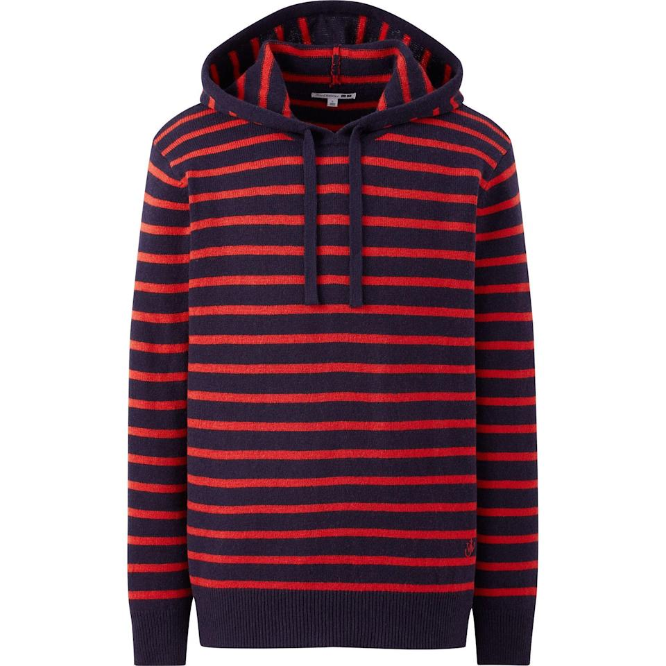 """<p>uniqlo.com</p><p><strong>$49.90</strong></p><p><a href=""""https://go.redirectingat.com?id=74968X1596630&url=https%3A%2F%2Fwww.uniqlo.com%2Fus%2Fen%2Fmen-wool-blend-long-sleeve-pullover-hoodie-jw-anderson-432322.html&sref=https%3A%2F%2Fwww.esquire.com%2Fstyle%2Fmens-fashion%2Fg34384963%2Funiqlo-jw-anderson-fall-winter-2020-collection%2F"""" rel=""""nofollow noopener"""" target=""""_blank"""" data-ylk=""""slk:Shop Now"""" class=""""link rapid-noclick-resp"""">Shop Now</a></p>"""