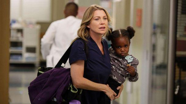 PHOTO: Ellen Pompeo in an episode of 'Grey's Anatomy,' which aired on Nov. 8, 2012, on the ABC Television Network. (Kelsey McNeal/ABC via Getty Images)