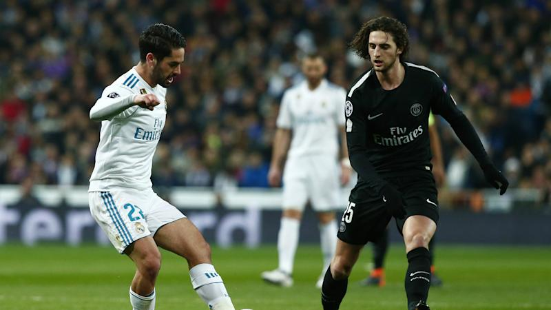 Isco Rabiot Real Madrid PSG Champions League