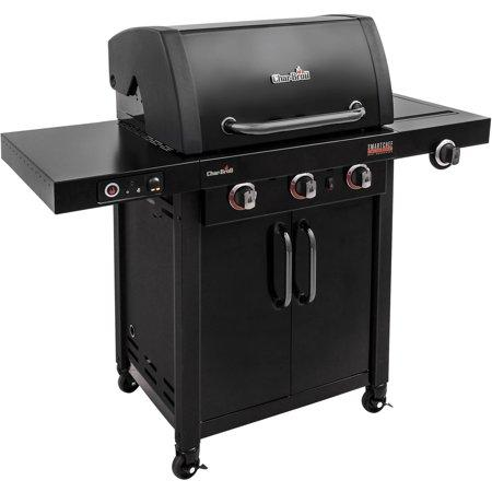"<p><strong>Char-Broil</strong></p><p>Char-Broil</p><p><strong>$574.00</strong></p><p><a href=""https://www.walmart.com/ip/55505054"" target=""_blank"">BUY NOW</a></p><p>This WiFi-connected grill syncs to your phone or iPad so you can control grill settings like pre-heating and temperature controls with ease. With the compatible app, you can see updates on grill and food temperatures, fuel levels and burner status, too.</p>"