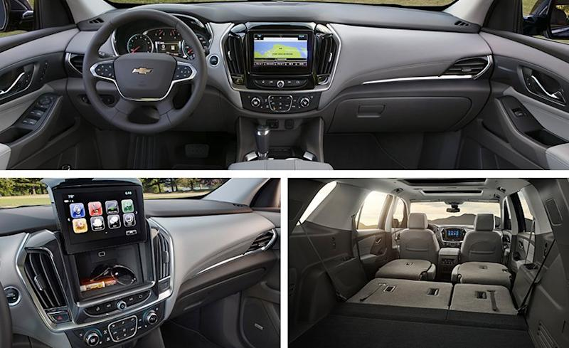 2018 chevrolet traverse high country awd for Traverse high country interior