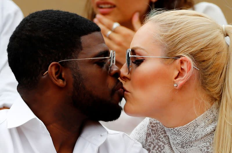Skier Vonn gives engagement ring to hockey star Subban and he says 'yes!'