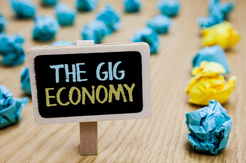 Working in the gig economy? Here's what it means for your taxes