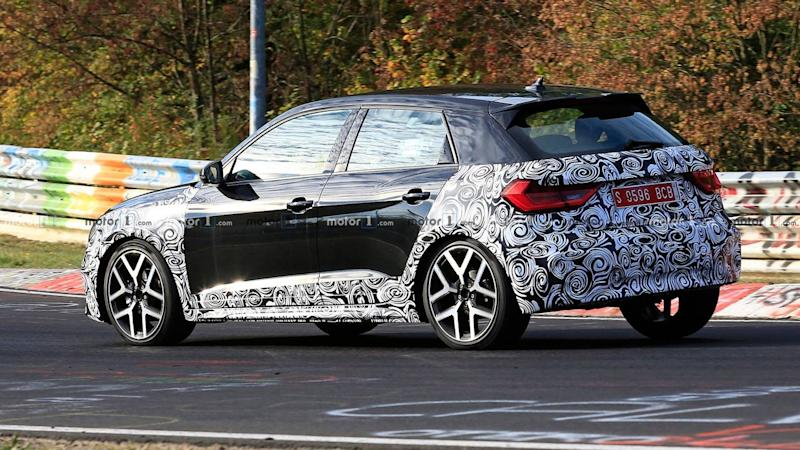 Audi A1 Allroad Spy Photos