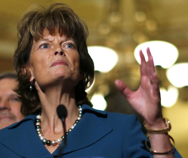 "Sen. Lisa Murkowski (R-Alaska) said Tuesday that she can go back to her constituents and say, ""OK, let's walk through this together."""