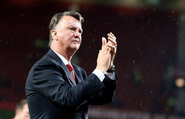 Louis van Gaal won the FA Cup during his two-year stint in the Old Trafford hot seat.