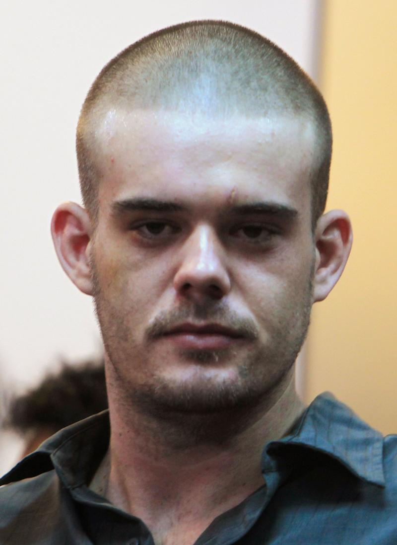 Joran van der Sloot at the Lurigancho prison in Lima on January 6, 2012.