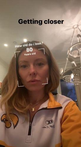 Kelly Ripa has Instagram guess her age without a smile