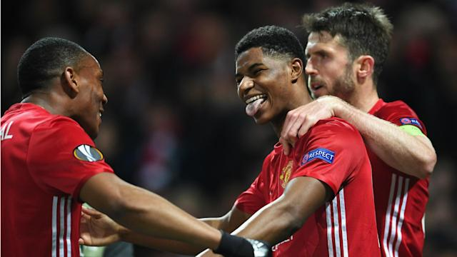 The young England international swooped to send his side into the last four, and he was delighted after a tough tie for the Red Devils