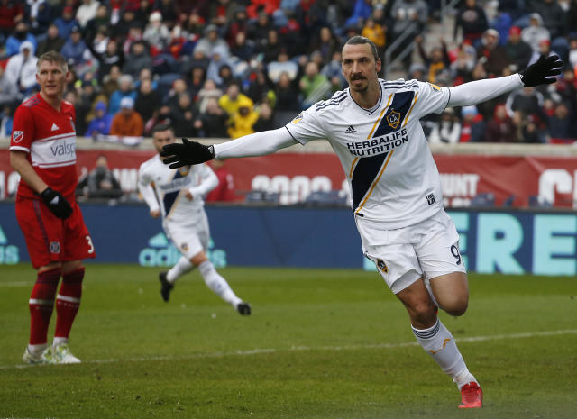 The Real Madrid midfielder hopes the Swedish striker keeps playing for a little while longer and added he could see himself in America one day