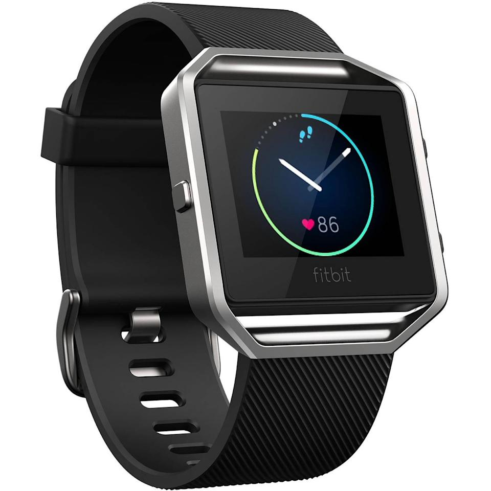 The Fitbit Blaze has either standard or digital clock functions