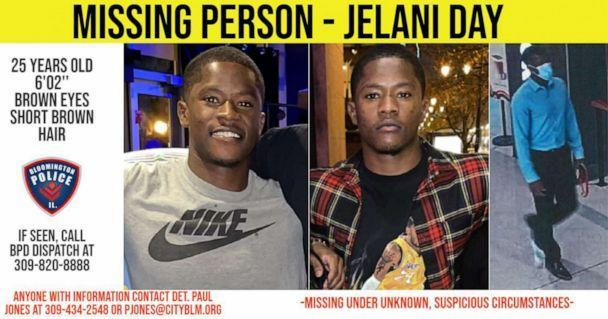 PHOTO: A missing persons post seeks Julian Day, a Illinois State University grad student. (    )