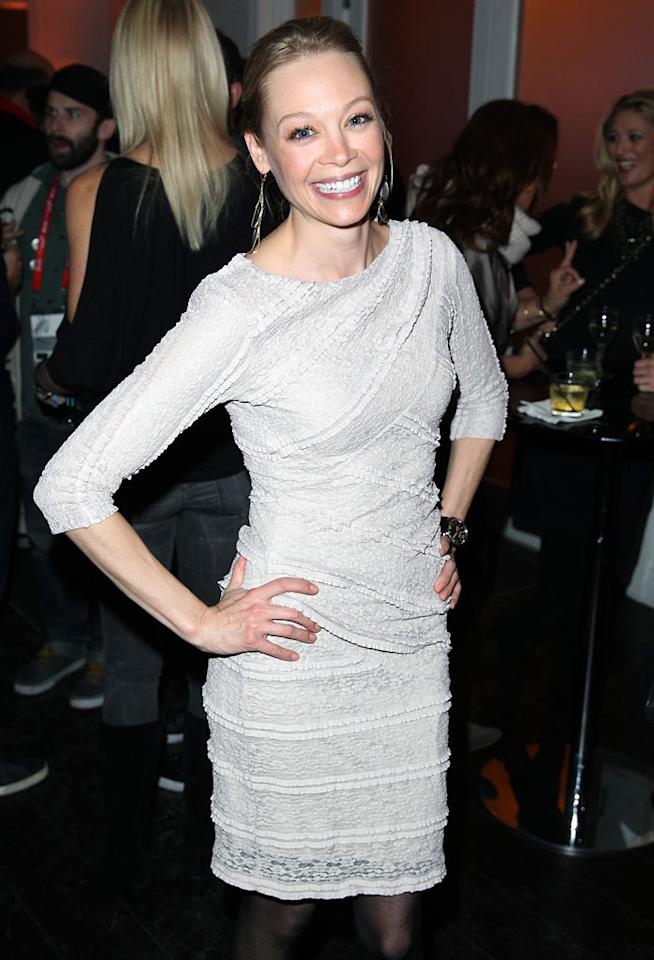 "PARK CITY, UT - JANUARY 20:  Actress Alexandra Holden attends ""In A World"" Dinner on January 20, 2013 in Park City, Utah.  (Photo by Joe Scarnici/Getty Images)"