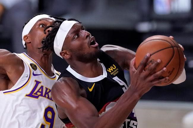 Murray, Nuggets hang on in Game 3, cut Lakers' lead to 2-1