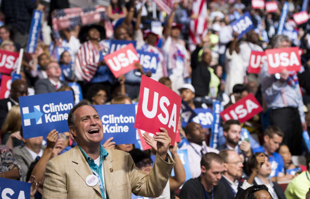 Congressman Ed Perlmutter of Colorado, while attending the 2016 Democratic National Convention. Perlmutter will be bringing Viviana Andazola Marquez to the State of the Union address. (Photo: Getty Images)