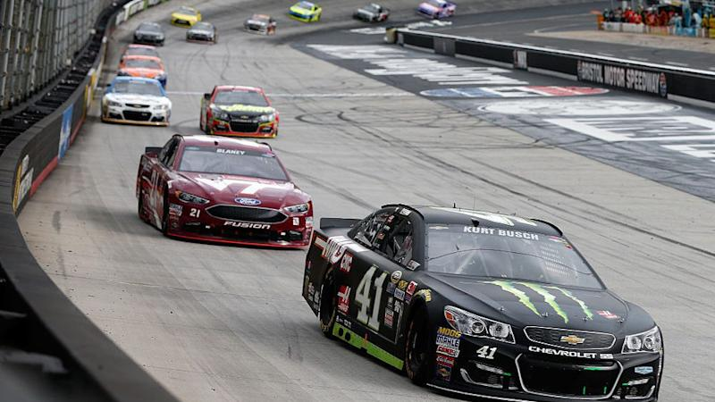 Kurt Busch wins Bristol for 6th victory
