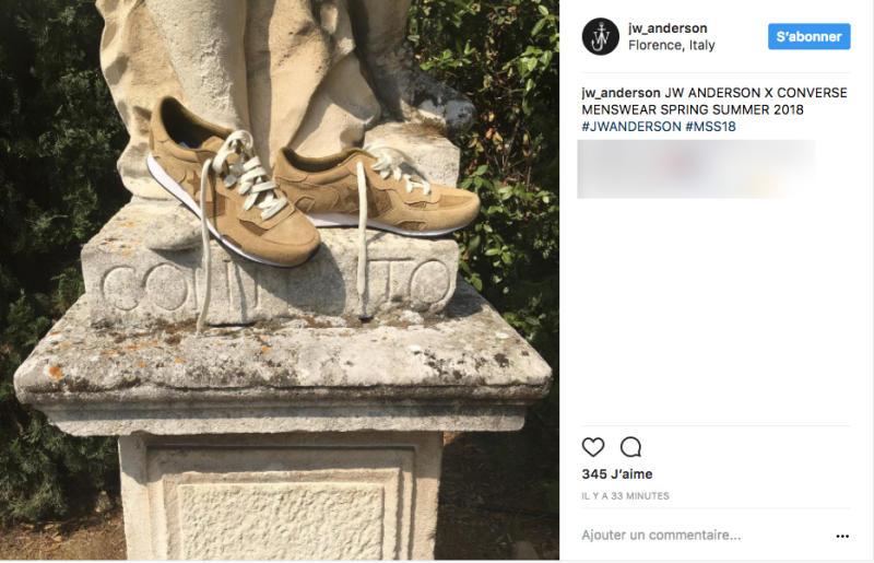 newest b3d7e 75122 JW Anderson s surprise Converse reveal and Hunting World s runway debut