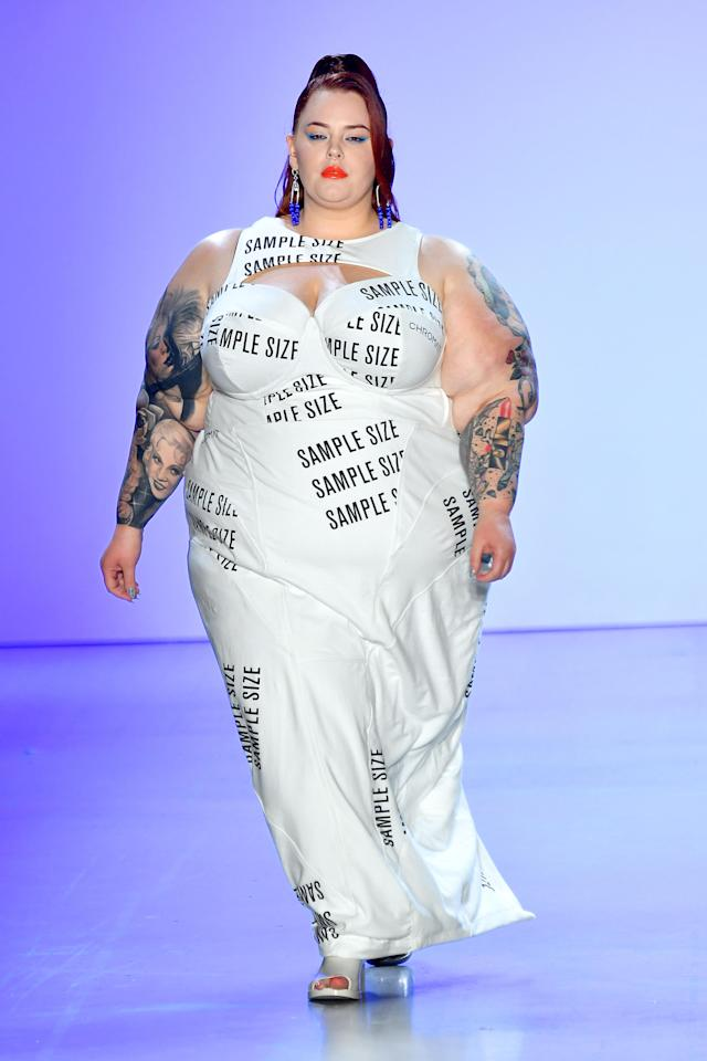 """Holliday says she's """"OK with being called fat."""" (Photo: Mike Coppola/Getty Images for Chromat)"""
