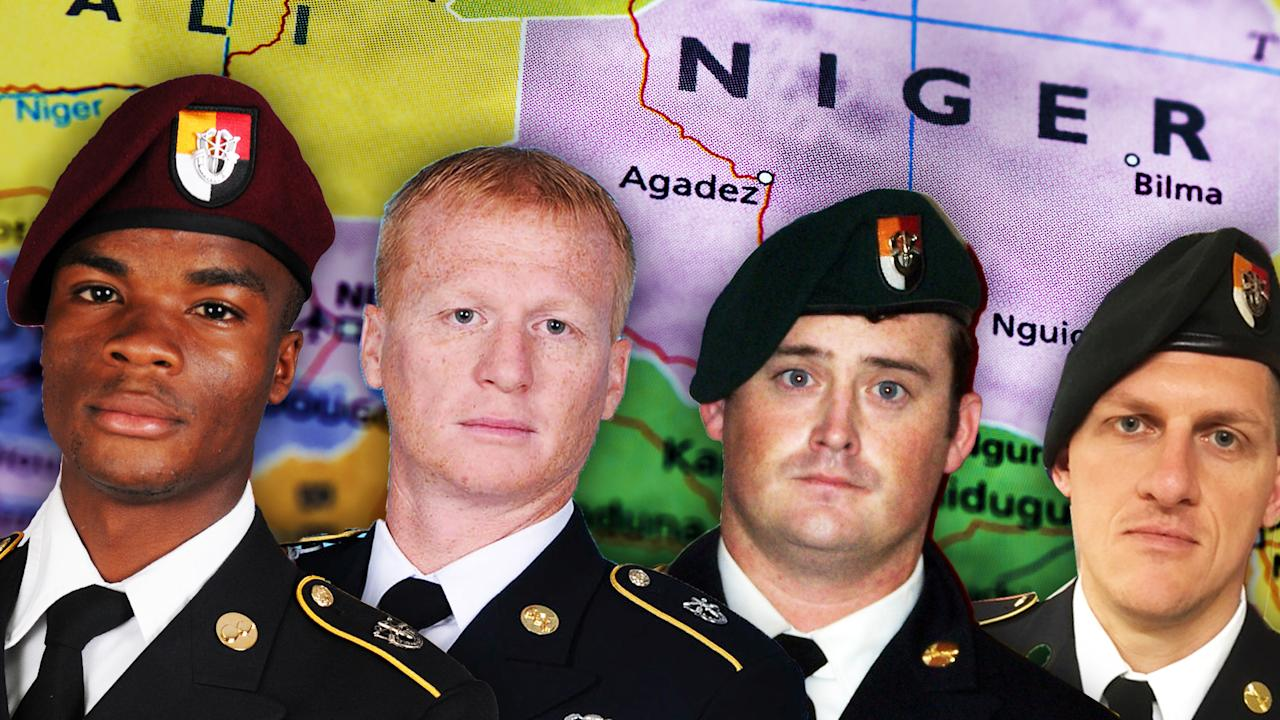 The death of four soldiers has opened eyes to that mission. It's also raised a question: How can our presence there be justified by a law passed in 2001?