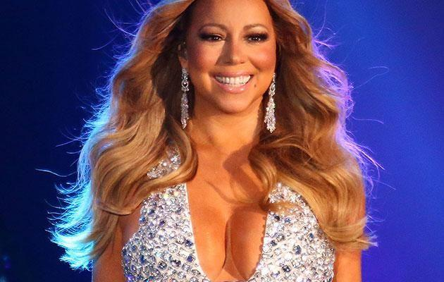 Mariah during her 2015 New Year's Ever performance at Crown Casino in Melbourne. Source: Getty