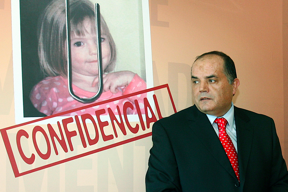 Former police chief Goncalo Amaral, who has claimed Maddie's parents faked her kidnap, features in the film. Source: Getty