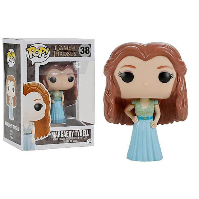<p>Margaery was a force to be reckoned with, but isn't it time that the real master of courtly intrigue, Lady Olenna, got a Funko Pop! figure? </p>