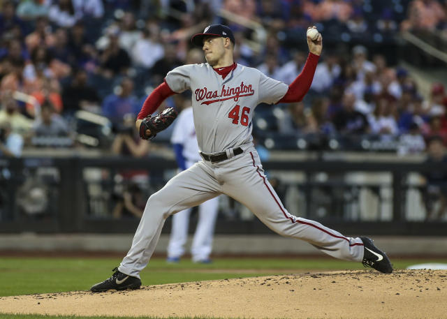 Patrick Corbin grew up a New York Yankees fan in Syracuse, New York. (USA TODAY Sports)