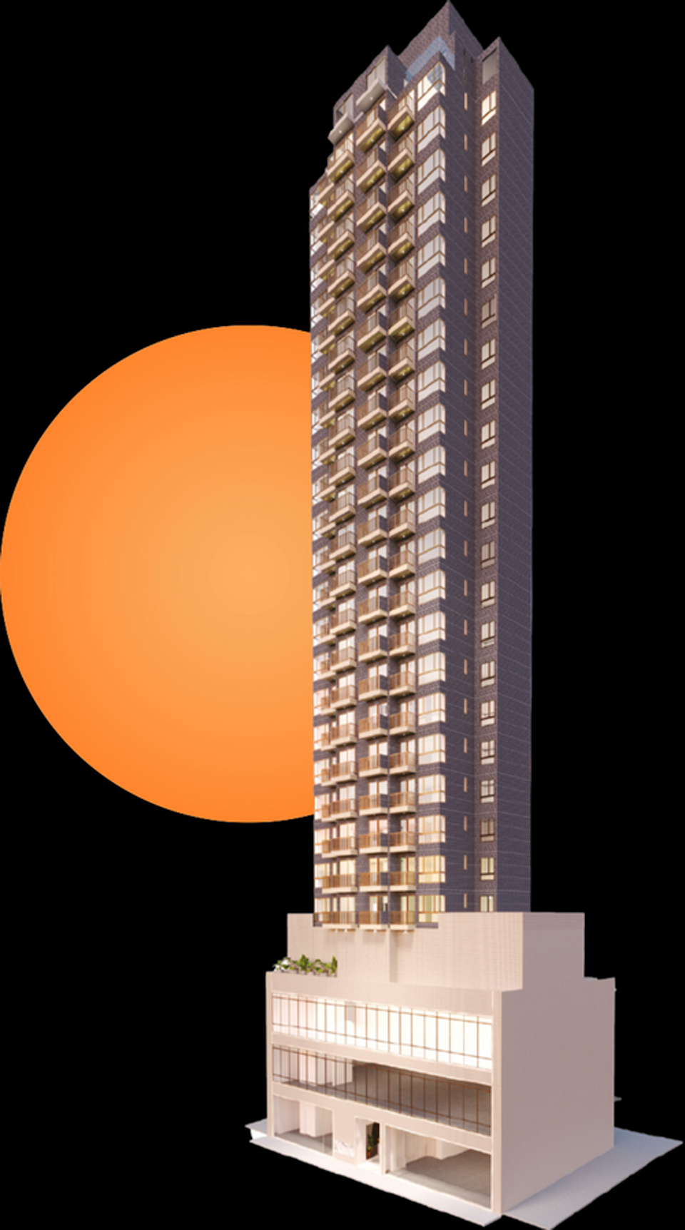 Artist's impression of the Mangrove housing complex in Hung Hom. Photo: Kwai Hung Group