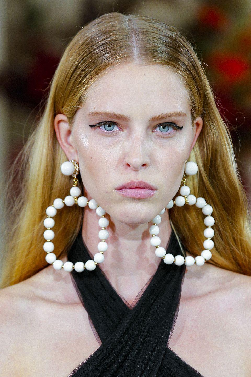 <p>Make your ears the center of attention next season with eye-catching pieces like these. </p><p><em>Carolina Herrera</em></p>