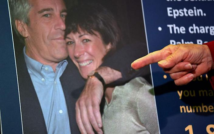 "Ms Maxwell ""enticed and groomed"" the girl to engage in sex acts with Epstein, ""through a variety of means and methods,"" the new charges read.   - AFP"