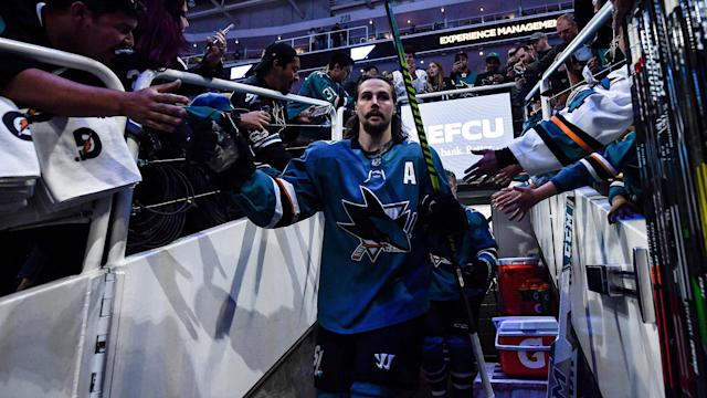 Erik Karlsson and his wife Melinda welcomed a baby girl back on October 3rd. (Getty)