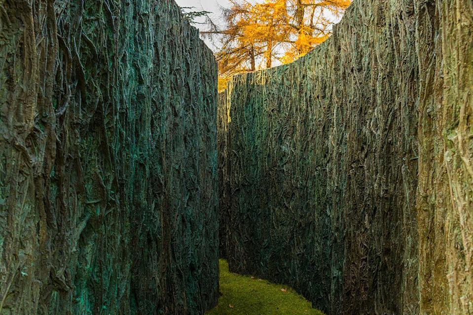 """<p>The Spanish artist Cristina Iglesias has created a number of """"vegetation rooms"""" and """"paths"""" over the years: architectural structures that are part-maze, part-cell; close walls of organic plant matter cast in bronze and resin in an effect that is both celebratory and suffocating. Her third """"vegetation room"""" is currently occupying the west lawn of Norwich's Sainsbury Centre on the University of East Anglia campus, alongside another key Iglesias installation, """"Celosia XI (Hafsa Bint Al-Hayy)"""", an intricate set of terracotta screens recalling the lattice work of Arab architecture. Both works are intended to communicate with the Sainsbury Centre's own iconic architecture, which came courtesy of Norman Foster. </p><p>Now on, sainsburycentre.ac.uk </p>"""