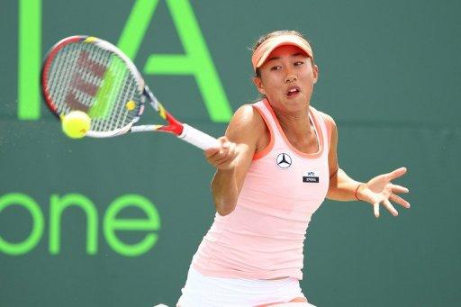 China's Zhang Shuai