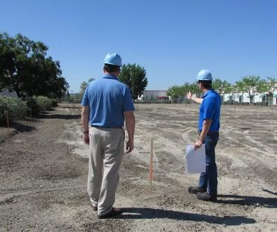 Location of the new solar energy array at Swiss American Sausage Company in Lathrop, Calif.