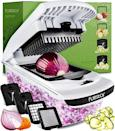 <p>If you hate chopping onions, you need this <span>Fullstar Vegetable Chopper</span> ($20). It comes with four different blades so you can dice and slice to your liking. </p>