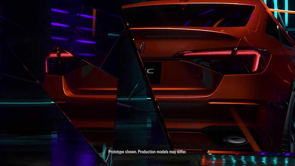 Teaser Honda Civic (2021)