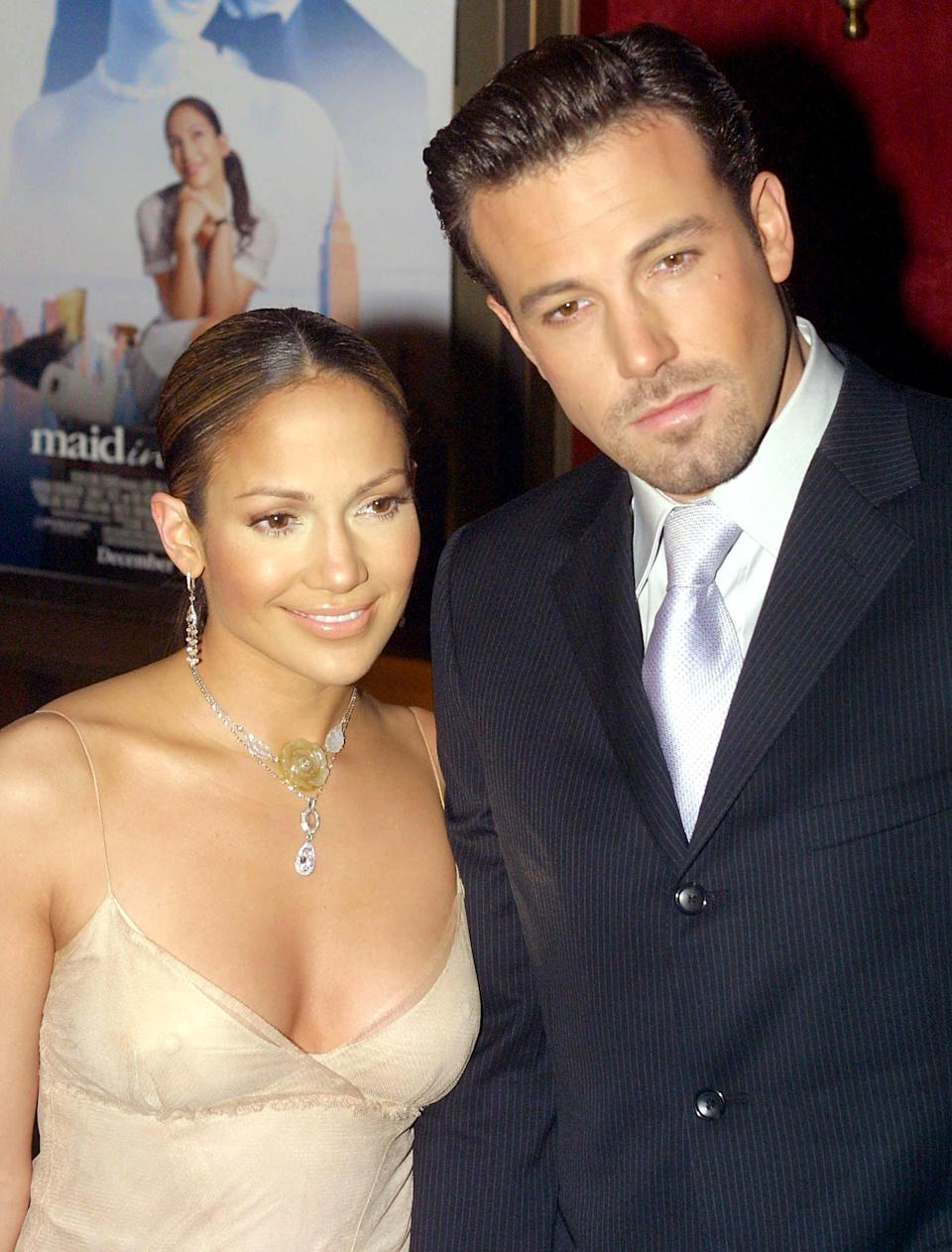 Lopez and Affleck called off their engagement in 2004 (Getty Images).