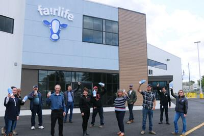 fairlife® has opened a new, state-of-the-art dairy facility in Peterborough, Ontario (CNW Group/fairlife)