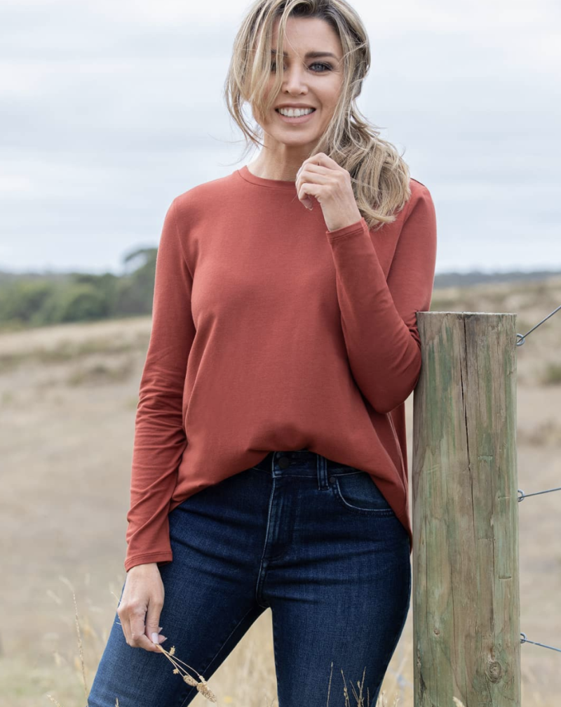 Dannii Minogue launched her 'petites' clothing line with Target in 2014. Photo: Instagram/targetaus.