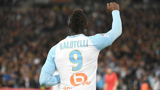 The Italy striker has been at Stade Velodrome since January after having his contract cancelled by Nice