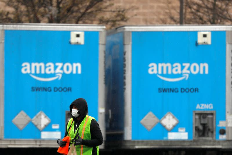 Amazon warehouses receive only vital supplies in U.S., Europe amid coronavirus